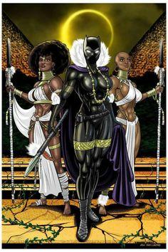 Shuri as Black Panther