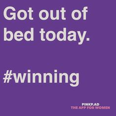 Got out of bed today. Chronic Fatigue, Chronic Illness, Chronic Pain, Fibromyalgia, Tired Funny, Tired Humor, Muscular Dystrophies, Rheumatoid Arthritis Symptoms, Cystic Fibrosis