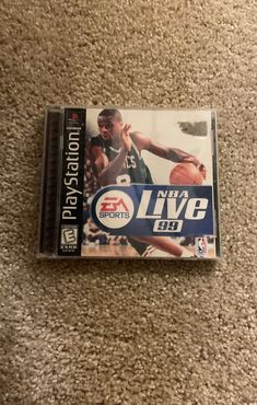 This game has been tested and works perfectly. Nba Live, Nba Sports, Sporting Live, Game Rooms, Tracking Number, Sony, Baseball Cards, Games, Studio