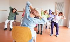 How chair yoga could become the go-to treatment for arthritis sufferers   Daily Mail Online