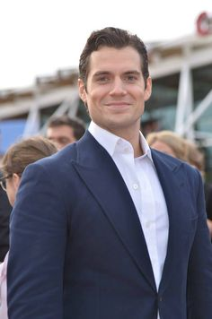 Henry Cavill at the Jersey Man of Steel Premiere on June 14, 2013