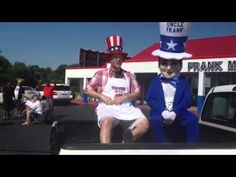 http://www.WinstonSalemUsedCars.com - Watch Tracy Myers and Uncle Frank, stars of The Uncle Frank Show, as they attempt to not butcher their lines. NOTE: They fail miserably. LOL.   Frank Myers Auto Maxx is the premier Winston Salem used car dealership.