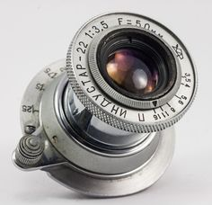 INDUSTAR-22 10 BLADES 1:3,5  F=50mm Kazan OMP USSR 35mm Rangefinder  s/n16347 #Industar