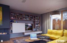 Ściana za telewizorem - Make Home Prettier