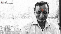 Portrait in black and white by Ritesh Patel on 500px