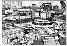 Awesome image of Olympus from Appleseed