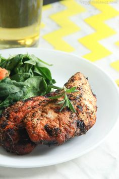 It is the best blackened chicken recipe and the only one I use. The heat, the spice, the flavor, oh my it's delicious.