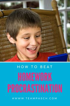 Homework time can be stressful - add procrastination to the mix and it becomes a nightmare!   Join the 3-day, free, video series on homework and procrastination!
