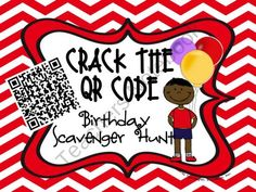 Crack the QR Code from Sweet Integrations...With a Taste of Technology on TeachersNotebook.com (4 pages)