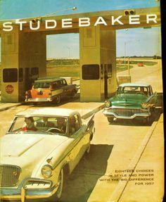 Vintage 1957 Studebaker Full Line Commander Champion Brochure | eBay