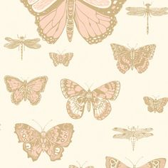 Butterflies & Dragonflies 103/15066 - Whimsical - Cole & Son