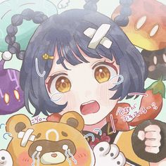 Manga Art, Anime Art, Animated Icons, Profile Photo, Cute Icons, Aesthetic Anime, Cute Art, Wallpaper, Drawings