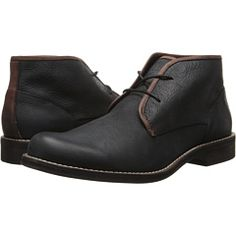 Wolverine Orville Desert Boot (Black) Men's Work Lace-up Boots