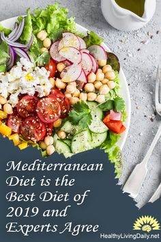 Mediterranean diet is considered the best diet because it provides many health benefits and few eating restrictions. Read this article to learn more. 👍😍😲🥗🍣  #Mediterraneandiethealthbenefits #healthbenefitsofMediterraneandiet #Mediterraneandiet #Meddiet #diet #bestdiet #bestdietof2019 #healthydiet #healthylifestyle #healthyfats #oilyfish #nutritiousfoods #Meddietbenefits #healthyfood #healthylivingdaily #followme #follow