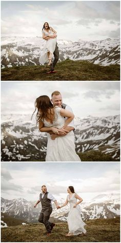 Epic locations for a Wild Vow Renewal in the mountains Elopement Dress, Beach Elopement, Mountain Elopement, Wedding Renewal Vows, Train Rides, Austria, Marriage, Mountains, Destination Weddings