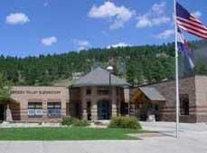 This was the school I taught at in Evergreen, CO!!  Miss it there!