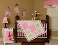 $103.60-$129.99 Baby Pam Grace Creations Nursery To Go 10 Piece Baby Bedding Set, Paisley - Crib Set includes coverlet, bumper, crib skirt , fitted sheet, diaper stacker, valance, musical mobile and three wall hangings http://www.amazon.com/dp/B002YT89E4/?tag=pin2baby-20