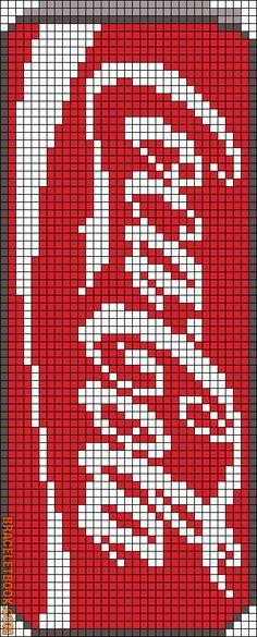 Alpha Friendship Bracelet Pattern #8803 - BraceletBook.com