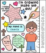 I'm Growing Inside and Out Activity Sheet for Samuel Bible lesson from… Kids Sunday School Lessons, Sunday School Projects, Sunday School Activities, Bible Activities, Bible Games, School Ideas, Bible School Crafts, Bible Crafts For Kids, Bible Lessons For Kids