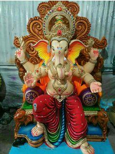 Om Ganesh, Clay Ganesha, Ganesh Lord, Ganesh Idol, Shree Ganesh, Ganesha Pictures, Ganesh Images, Ganesh Aarti, Raksha Bandhan Photos