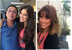 Camilla Camargo: antes e depois da transformação by Celso Kamura (Foto: Divulgação)
