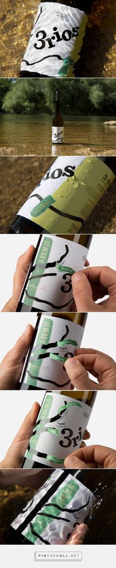 3 Rios Wines Comes With a Unique Interactive Label — The Dieline | Packaging & Branding Design & Innovation News... - a grouped images picture - Pin Them All