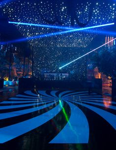 Ask your DJ if the LED lighting equipment will be part of your booked package to ensure your party becomes an absolute hit with your guests. lights Wedding Dance Floor Ideas: The Secret to an Epic Wedding Reception Neon Party, Disco Party, Dance Floor Wedding, Wedding Reception, Le Rosey, Dance Floor Lighting, Nightclub Design, Prom Themes, Dance Themes