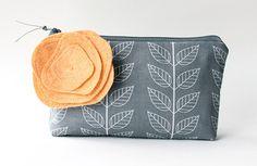 Handmade Wedding Week: Allisa Jacobs cute fabric pouches and zipper bags