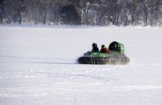ilmatyynyalus on paras kelirikoalus, heikot jäätkään eivät matkantekoa katkaise.
