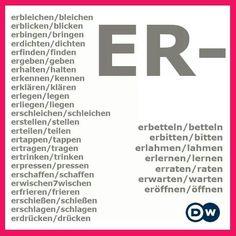 er- verbs in German
