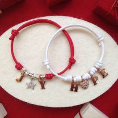 Bracelets created by the London Dodo boutique.