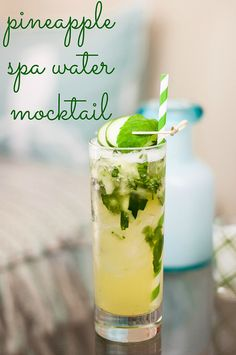 Seeking some zen? Sip on the refreshment with this pineapple spa water mocktail. Made with Outshine Pineapple frozen fruit bars and Coconut Waters with Pineapple, this drink will become a fast favorite.
