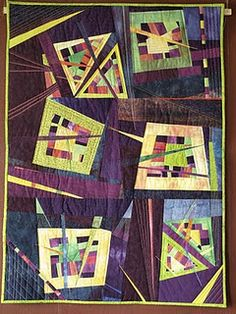 """""""Don't you love a good mystery, too?"""" by Frauke Schramm very cool quilt!!"""