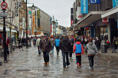 A travel blog about  Shoppen in Newcastle