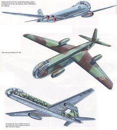 Algunas Variantes propuestas del Ju-287