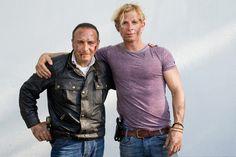 Daniel Roesner Photos Photos - (L-R) Actors Erdogan Atalay and Daniel Roesner…