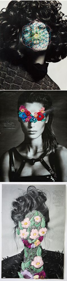 jose romussi - flowers and fashion <3