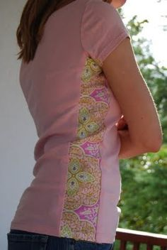 Wish I would have done this to all my shirts that don't fit anymore instead of getting rid of them. oh well! More