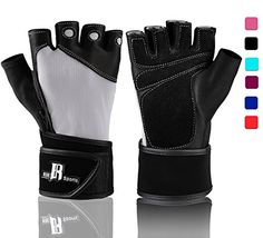 Weight Lifting Gloves With Wrist Wraps - Ideal Training Gloves Women - Premium Workout Gloves With Wrist Support -best Sport Gloves For Men And Women - Gym Gloves (Gray M) ** To view further for this item, visit the image link.