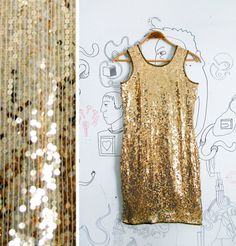 In the 1980s, vintage like Silk Sequins was very popular. A dress like this sold from about $52.00.