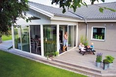 Pergola Ideas For Patio Small Backyard Pools, Backyard Sheds, Backyard Patio Designs, Deck With Pergola, Screened In Patio, Pergola Kits, Outdoor Rooms, Outdoor Living, Closed In Porch