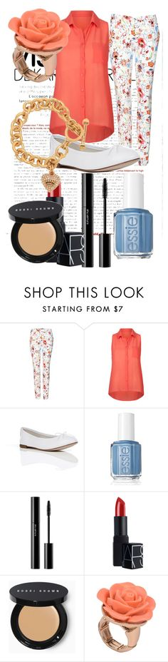 """""""Sin título #142"""" by lamogly-paulina ❤ liked on Polyvore featuring Etro, Full Tilt, Repetto, Essie, shu uemura, NARS Cosmetics, Bobbi Brown Cosmetics, Lori's Shoes and Juicy Couture"""