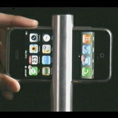 A video of the newest 3G iPhone accessory from Apple, iHammer  (actually it's a  parody video made by designer, David Ngo)