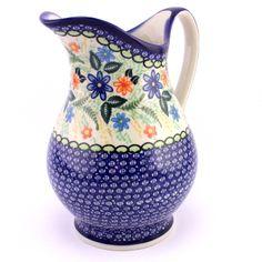 Cheerful Polish pottery by Ceramika Kalich :) http://slavicapottery.com