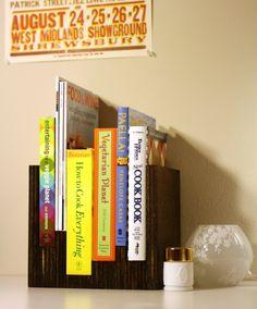 cute idea for specific books.  and so easy!