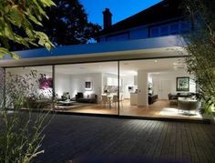 modern extension on old house australia - Google Search