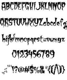 Image for Kreepy Krawly font