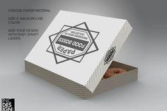 Dozen Donut Box Packaging Mock Up By INC Design Studio
