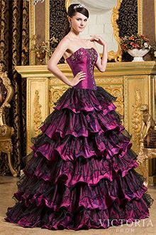 T prom dresses goth
