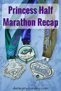 Princess Half Marathon Recap - all about how the race went, which characters were out, and more for 2016!